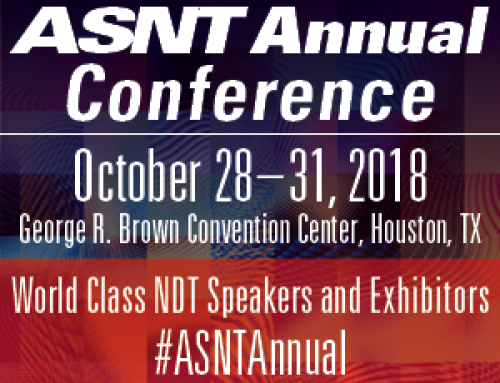 ASNT Annual Conference – Houston, TX